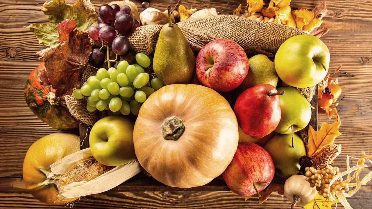 اصول تغذیه در پاییز با طب سنتی