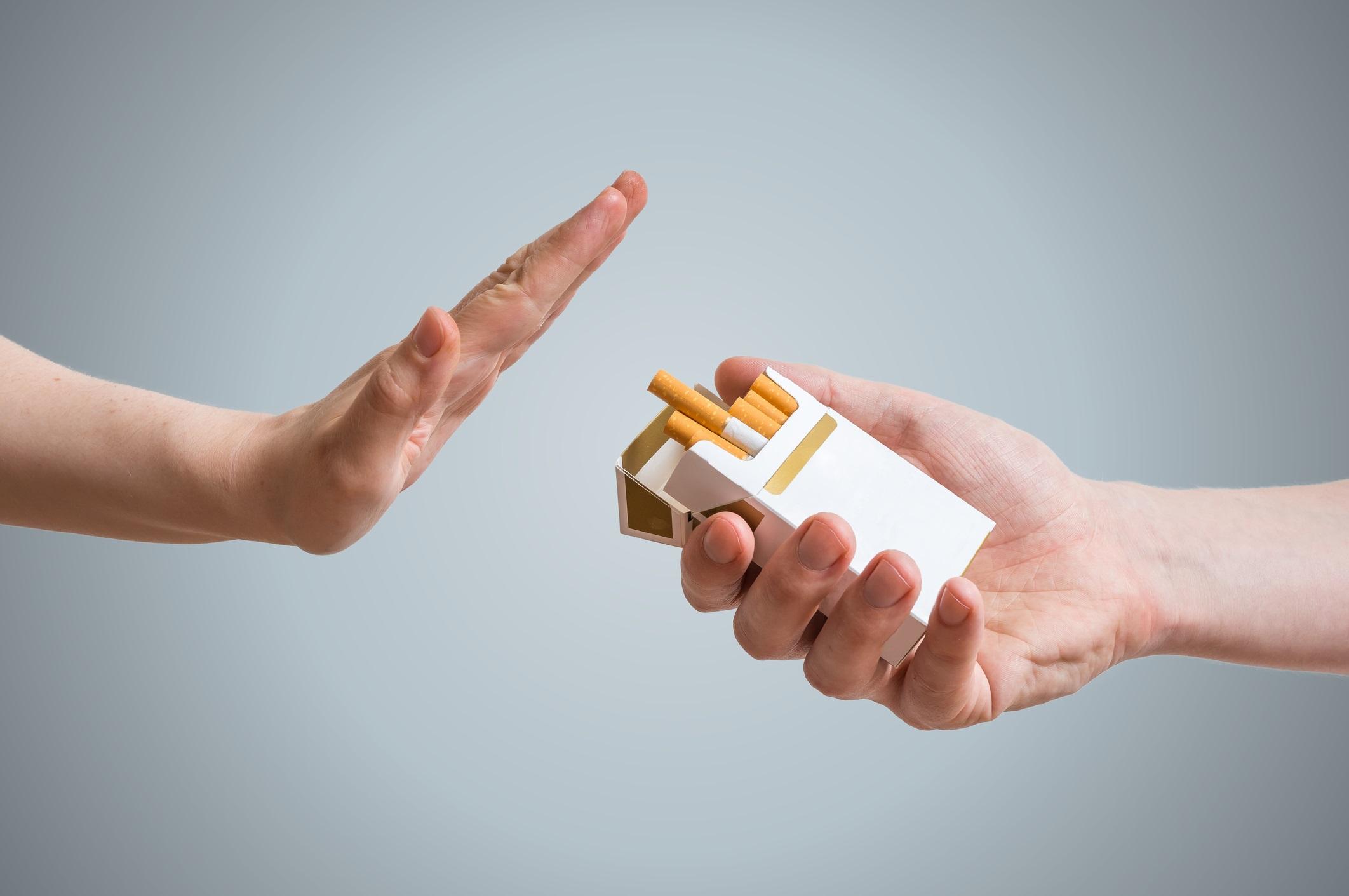 ترک سیگار در طب سنتی